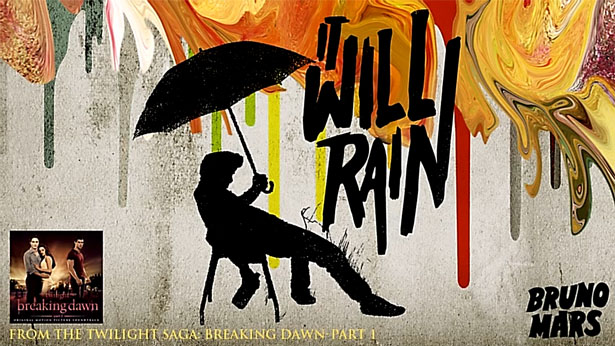 Lirik It Will Rain - Bruno Mars